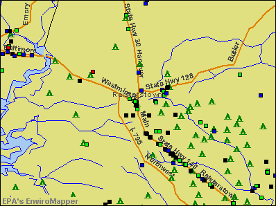 Reisterstown, Maryland environmental map by EPA