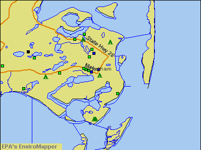 Chatham, Massachusetts environmental map by EPA