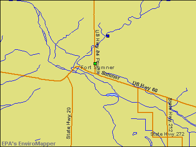 Fort Sumner, New Mexico environmental map by EPA