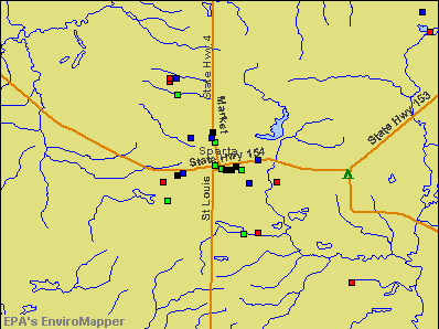 Sparta, Illinois environmental map by EPA