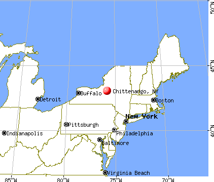 Chittenango, New York map