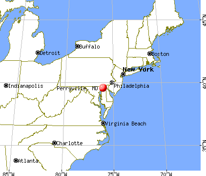 Perryville, Maryland map