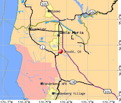 Orcutt, CA map