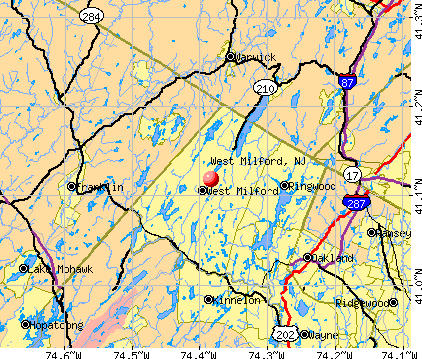 West Milford, NJ map