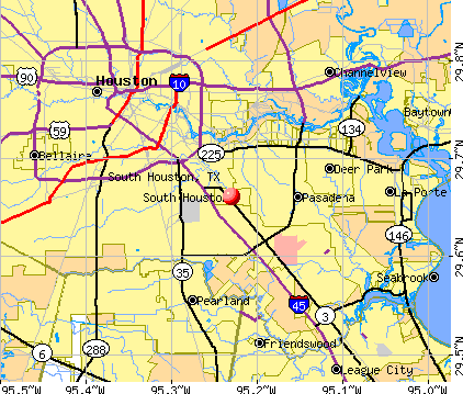 South Houston, TX map