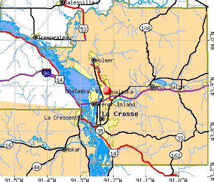 Onalaska, WI map