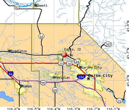 Eagle, ID map