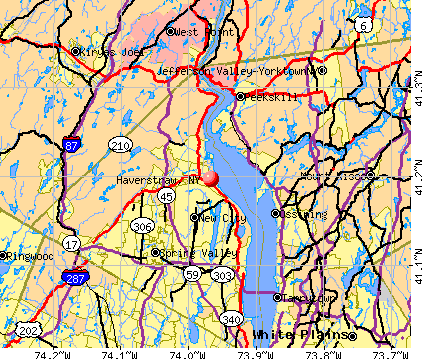 Haverstraw, NY map