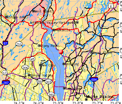 Croton-on-Hudson, NY map