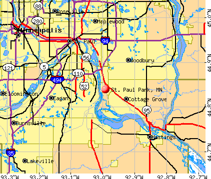 St. Paul Park, MN map