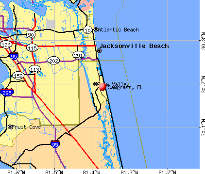 Sawgrass, FL map