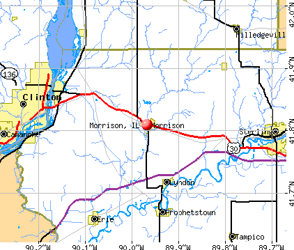 Morrison, IL map