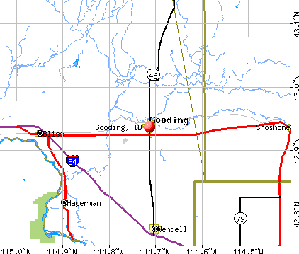 Gooding, ID map