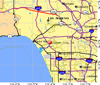 Culver City, California (CA) profile: population, maps, real ...