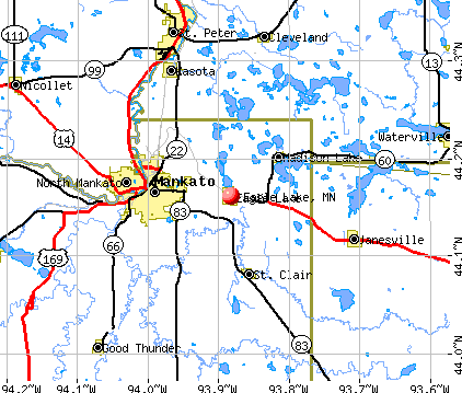 Eagle Lake, MN map