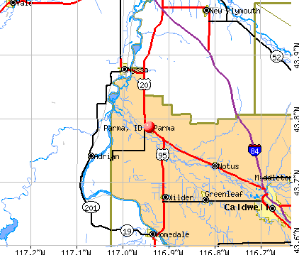 Parma, ID map