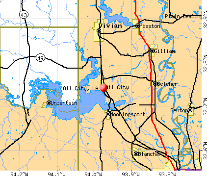 Oil City, Louisiana (LA 71061) profile: population, maps, real ...