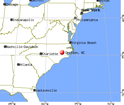 Grifton, North Carolina map