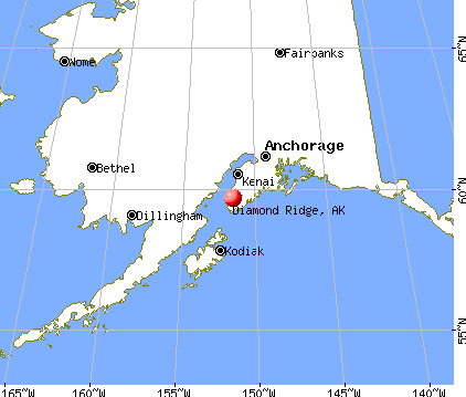 Diamond Ridge, Alaska map