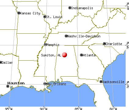 Sumiton, Alabama map
