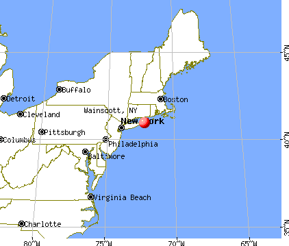 Wainscott, New York map