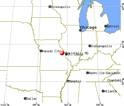Foristell, Missouri map