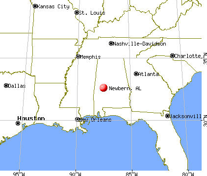 Newbern, Alabama map