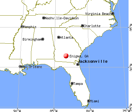Enigma, Georgia map