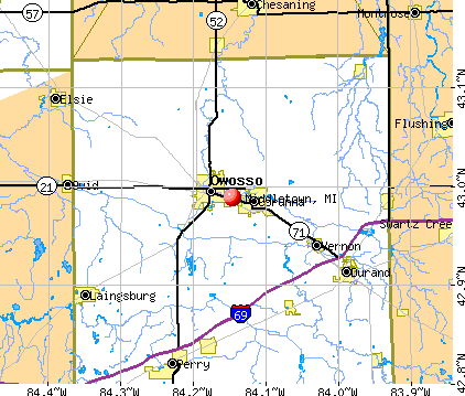 Middletown, MI map