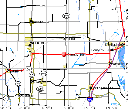 Risco, MO map