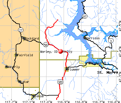 Worley, ID map