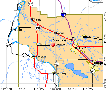 Greenleaf, ID map