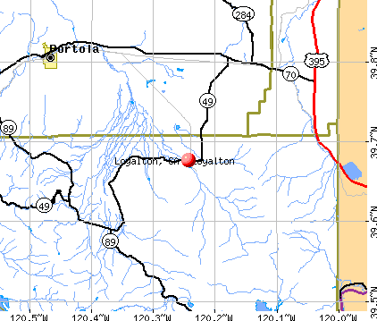 Loyalton, CA map