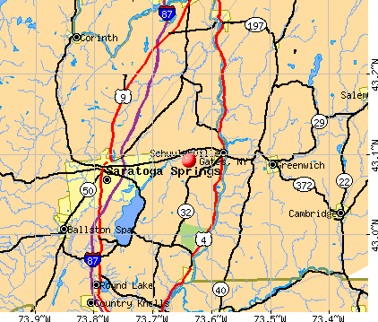 Gates, NY map