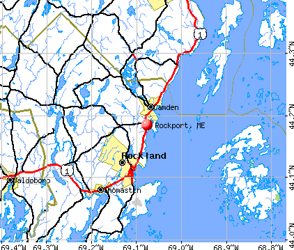 Rockport, ME map