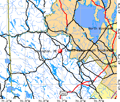 Limington, ME map