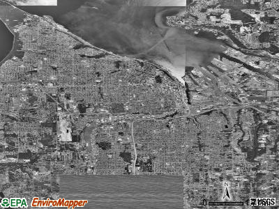 Tacoma satellite photo by USGS
