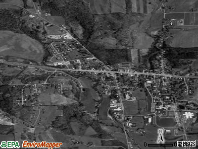 Morrisville satellite photo by USGS