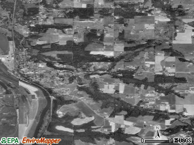 Ridgefield satellite photo by USGS
