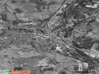Boonville satellite photo by USGS