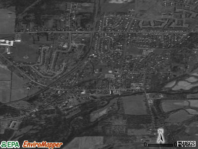 Scottsville satellite photo by USGS