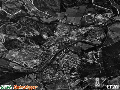 Glen Rose satellite photo by USGS