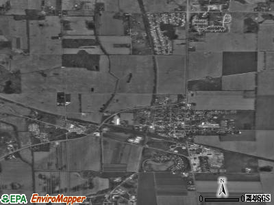Westville satellite photo by USGS