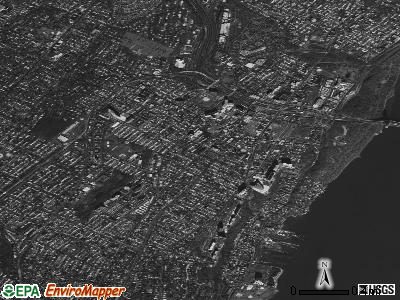 Fort Lee satellite photo by USGS