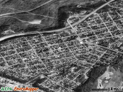 North Belle Vernon satellite photo by USGS