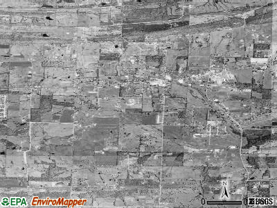 Vilonia satellite photo by USGS