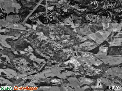 Watkinsville satellite photo by USGS