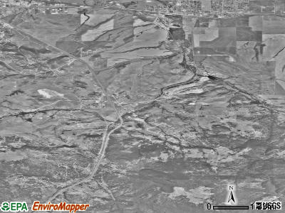 Montana City satellite photo by USGS