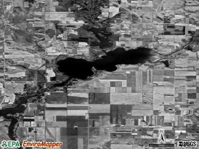 Tainter Lake satellite photo by USGS