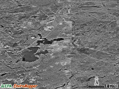 Hoyt Lakes satellite photo by USGS